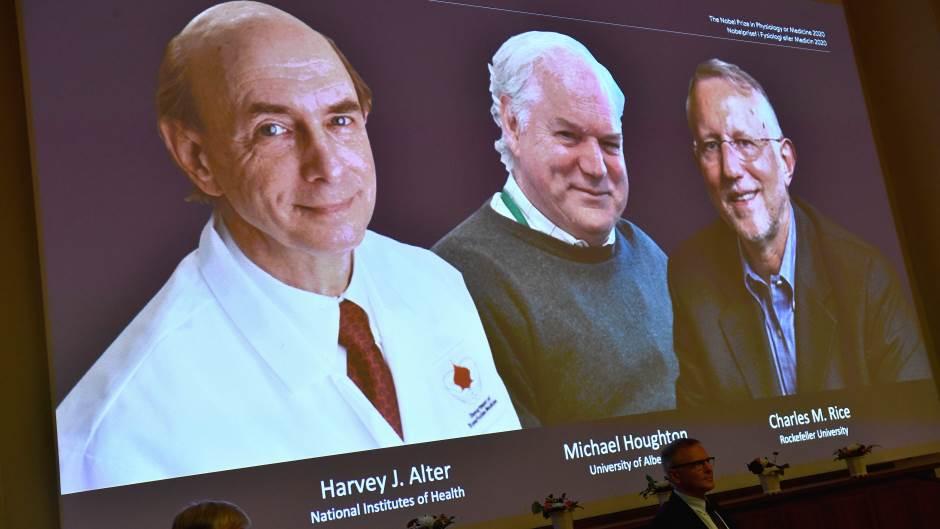 Nobelova nagrada za medicinu trojici naučnika za otkirće hepatitisa C