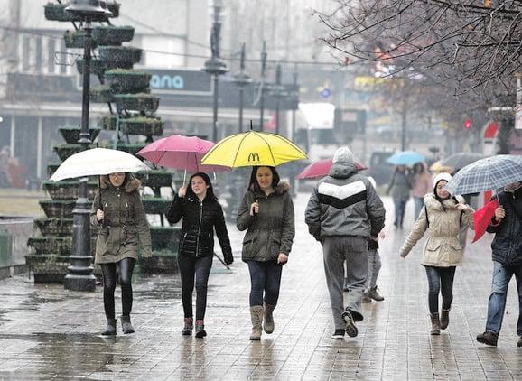 Vreme: Moguća kiša, blag pad temperature