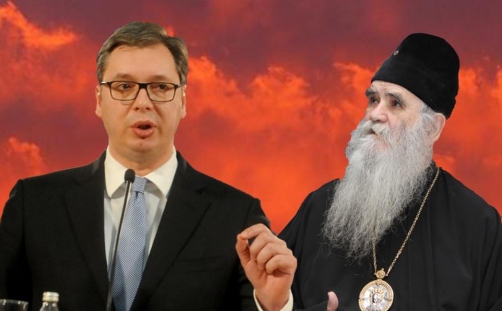 Vučić ponudio pomoć Amfilohiju
