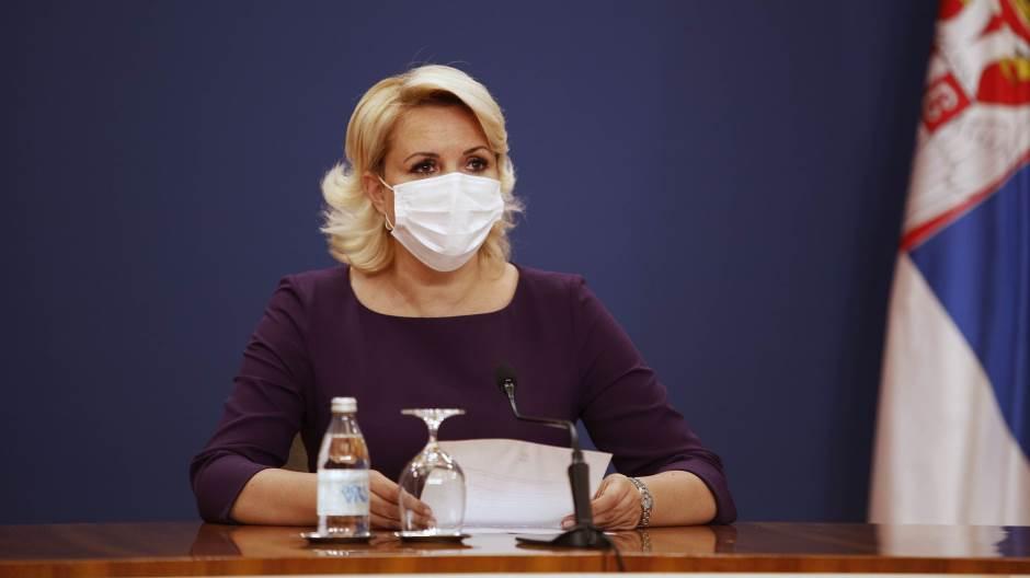 Kisić Tepavčević: Nije doneta odluka da se nastava u školama od 1. novembra nastavi onlajn