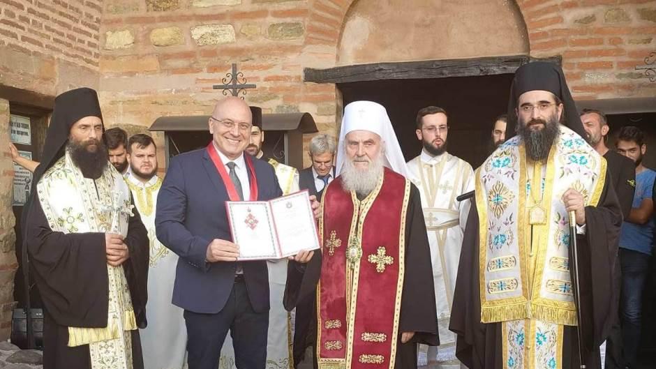 Patrijarh odlikovao ministra kulture
