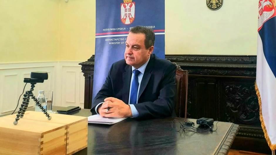 Dačić: Pandemija podsetila na značaj međunarodne saradnje