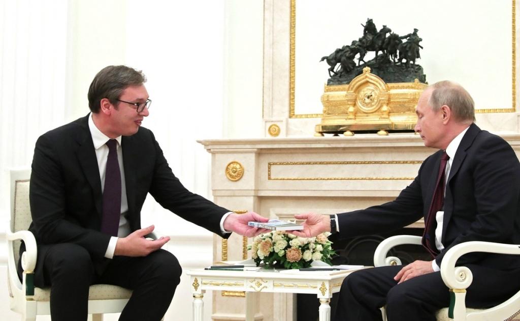 Danas: Putin ne dolazi u oktobru u Beograd