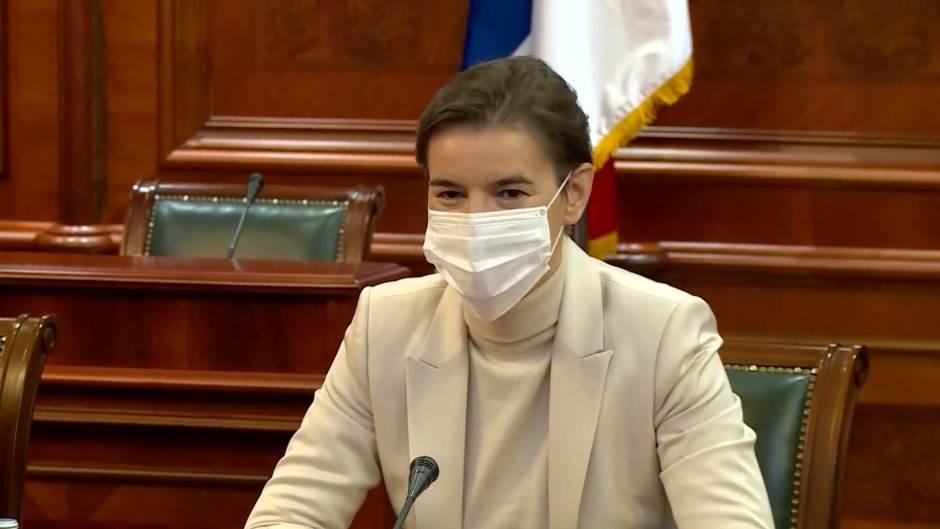 Ana Brnabić: Vlast slušala narod