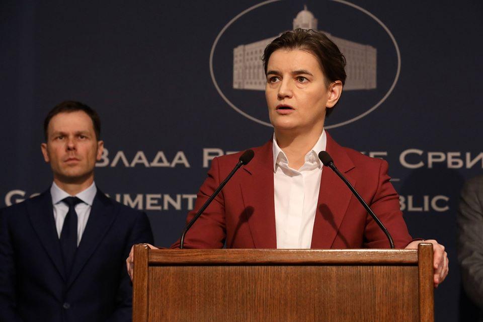 Ana Brnabić ostaje predsedica Vlade