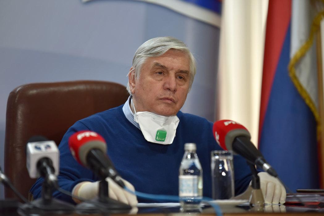 Tiodorović: Najoštrije mere ako dnevni broj novoinficiranih dodje do 1.500