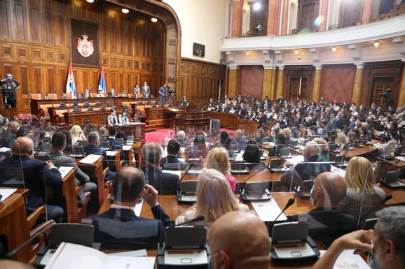 Skupština Srbije raspravlja danas o Vladi