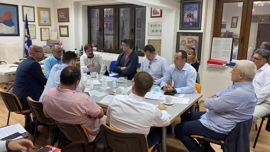DSS domaćin sastanka opozicije