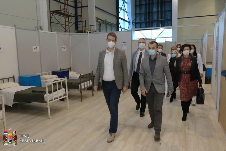 Kragujevac: Privremena kovid bolnica spremna, planirano i proširenje sistema
