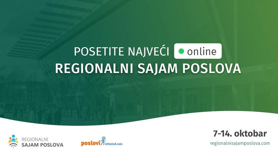 Regionalni onlajn sajam zapošljavanja