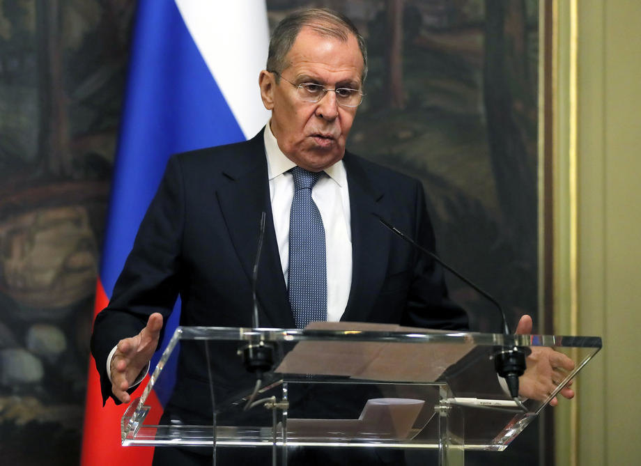 U Srbiju dolazi Sergej Lavrov