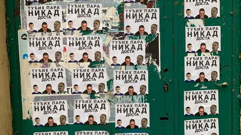 Plakati protiv Jeremića