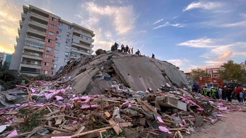 U zemljotresu u Izmiru i na ostrvu Samosu 27 mrtvih