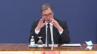 Vučić: Nema novih mera za koronu ali ćemo striktno primenjivati postojeće