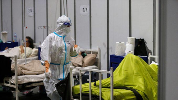 Kovid-bolnica u Areni popunila preko dve trećine kapaciteta
