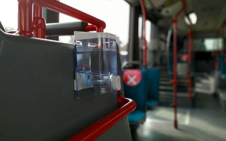 Kragujevac: Dezinfekciona sredstva u autobusima