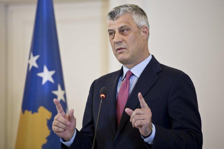 Potvrdjena optužnica i protiv Tačija, kosovski predsednik podneo ostavku