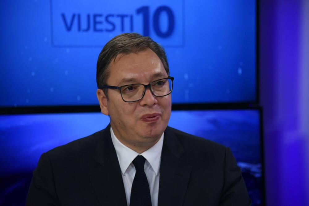 Vučić: Došao sam na sahranu, nisam se sastao sa predstavnicima Demokratskog fronta