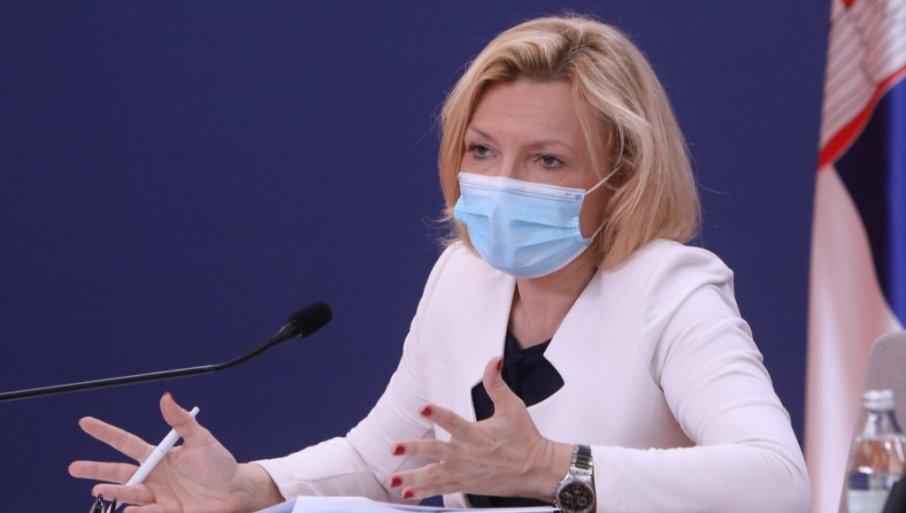 Direktorka Instituta Batut: Epidemiološka sitaucija u Srbiji preteća