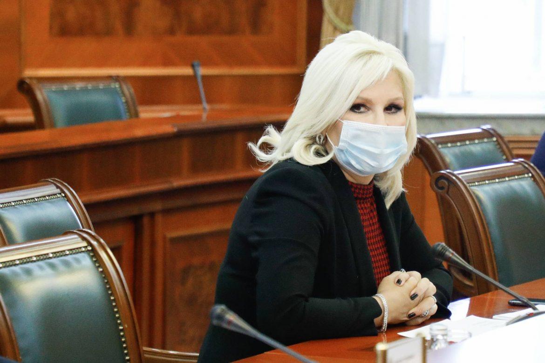 """Ministarka Mihajlović razgovarala sa v.d. direktorom predzeća """"Transnafta"""""""