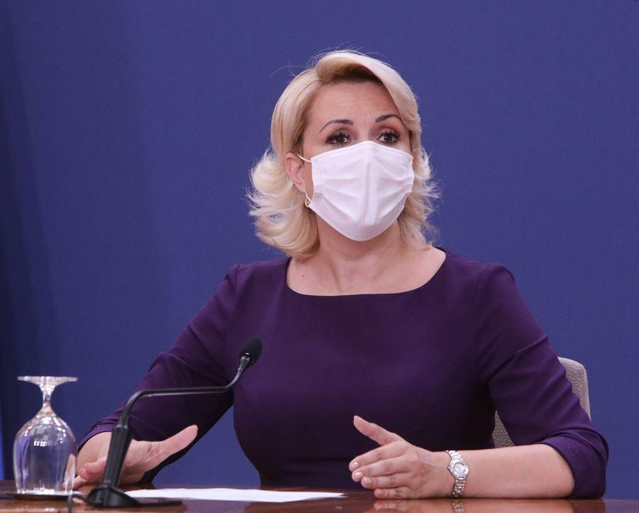 Kisić Tepavčević: Više zaraženih nego što je zvanično potvrđenih slučajeva