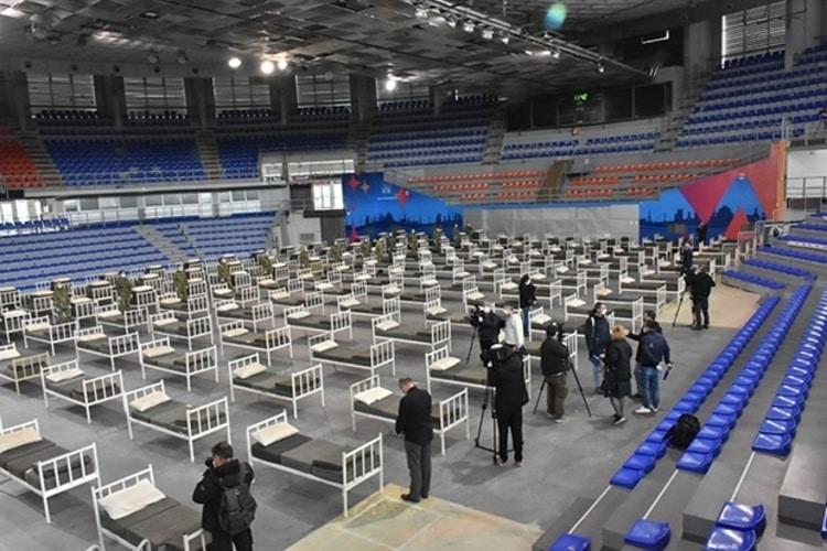 Hala Čair u Nišu od sutra ponovo u kovid sistemu