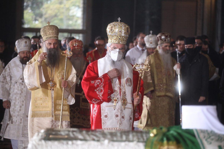 Sahranjen patrijarh Irinej