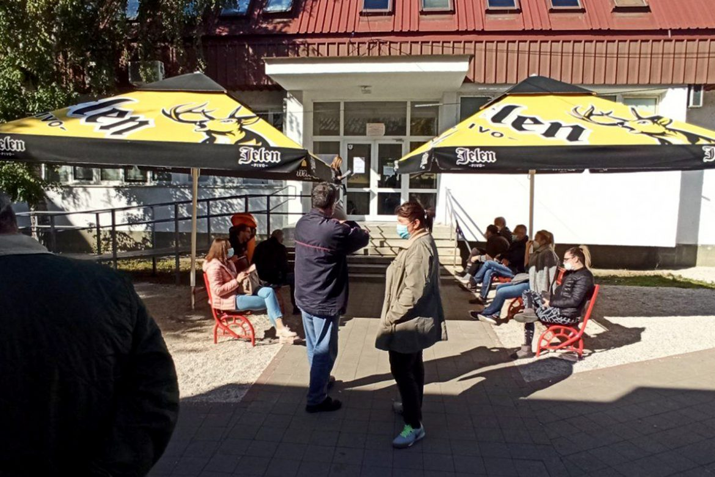 Kragujevac: U kovid ambulanti oko 450 pregleda dnevno