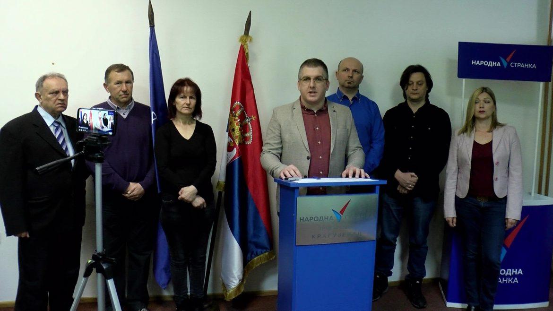 Narodna stranka pozvala vlast u Kragujevcu da ne otima od najugroženijih