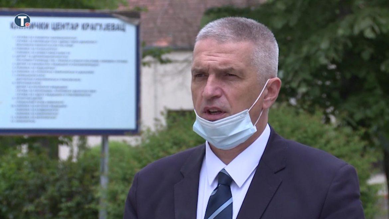 Sazdanović: I Klinika za psihijatriju KC Kragujevac ulazi u kovid sistem