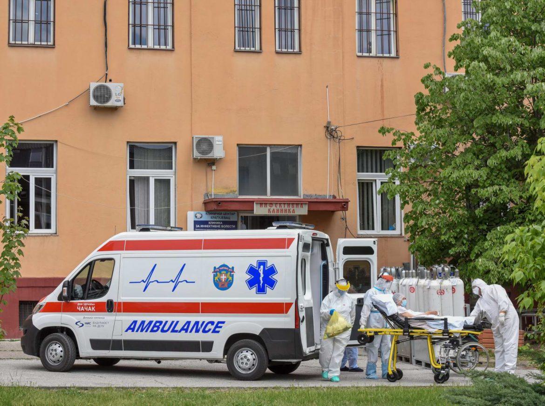 U Kragujevcu još 98 zaraženih osoba