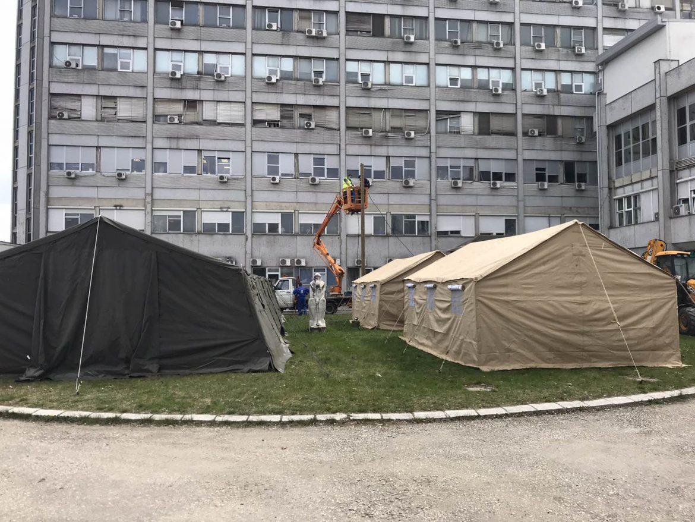 Sazdanović: U KC Kragujevac 91 zdravstveni radnik zaražen