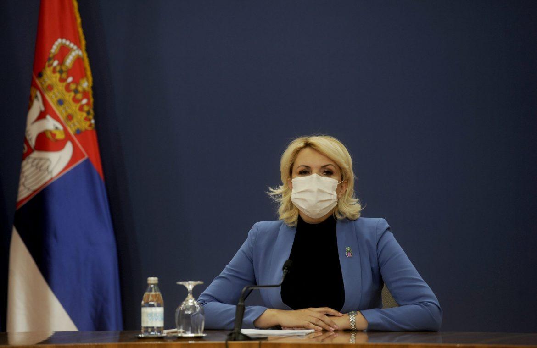 Kisić Tepavčević: Svaka porodica Krizni štab