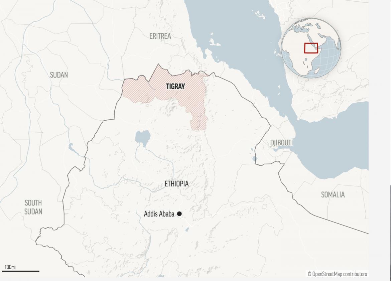 Unutrašnji rat u Etiopiji preliva se preko granice, hiljade beže