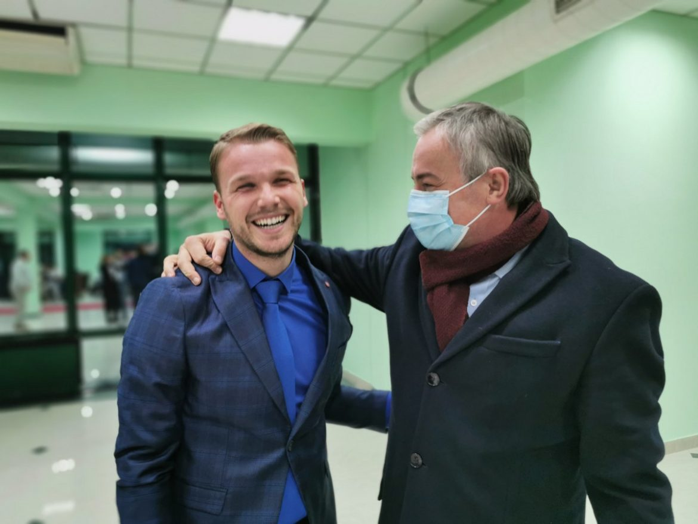 BIH: Opozicioni kandidat Draško Stanivuković proglasio pobedu u Banjaluci