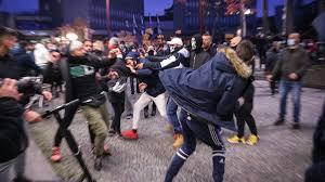 Neredi u Ljubljani zbog novih epidemioloških mera