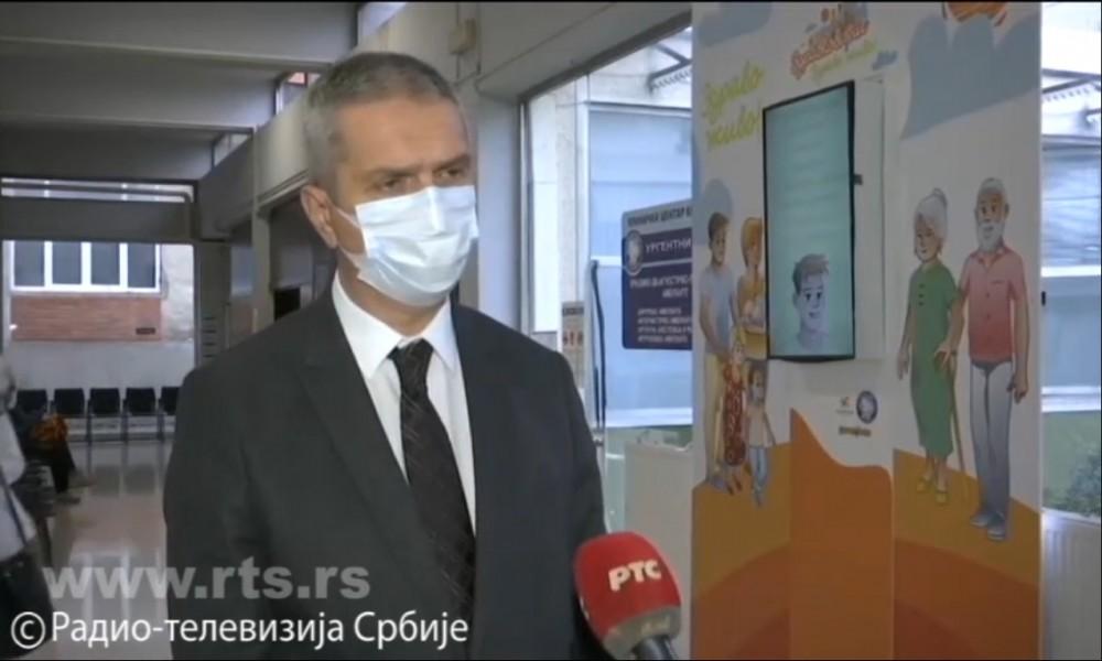 Sazdanović: Kragujevac spreman za najgori scenario, u pripremi još dve kovid bolnice