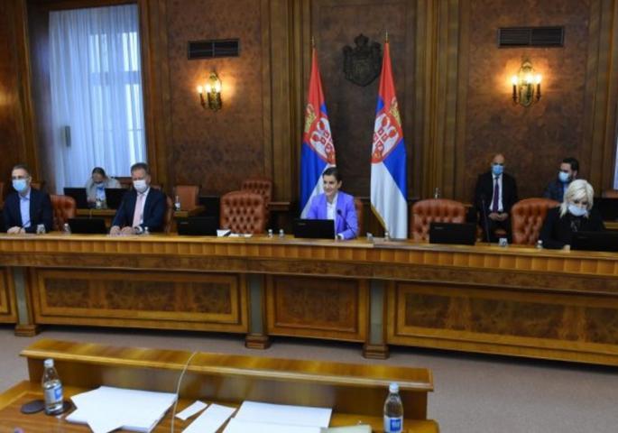 Danas posebna sednica Vlade, prisustvuje i Vučić