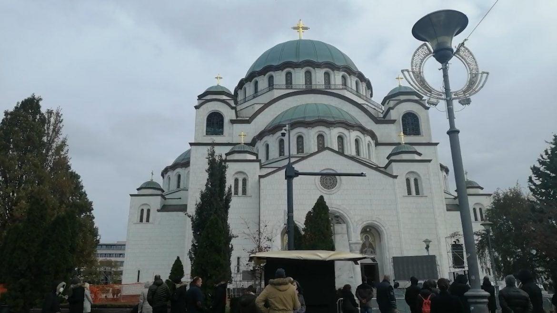 Održan pomen patrijarhu Irineju u Hramu Svetog Save