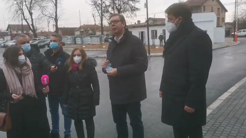 Vučić: Bolnica u pravi čas