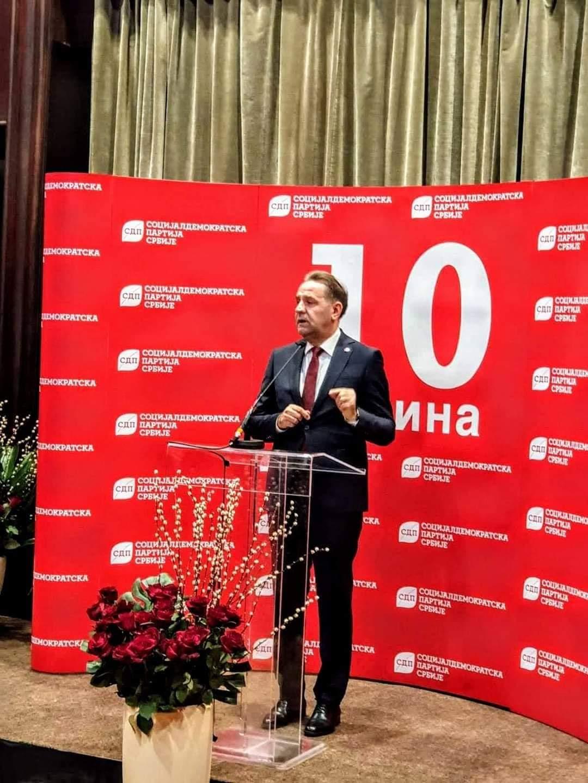 Ljajić reizabarn za predsednika SDP