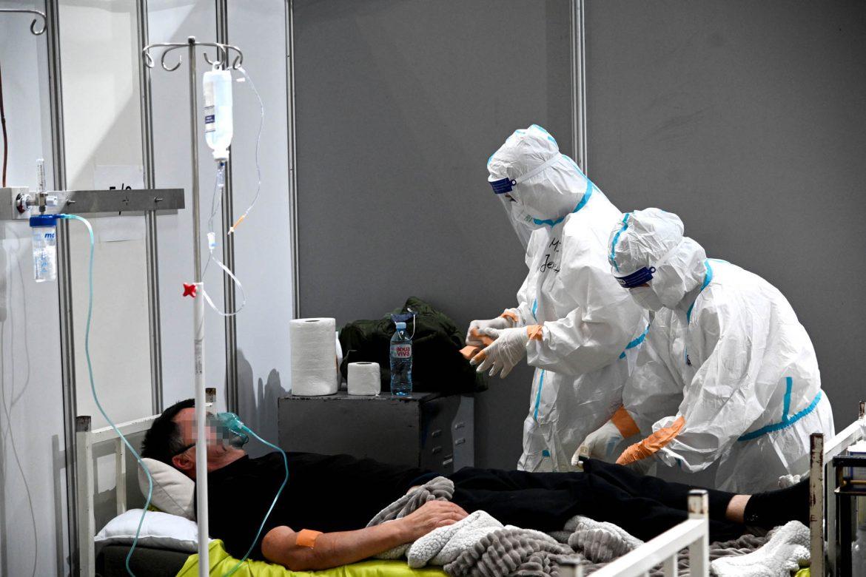 U Areni trenutno 413 pacijenata, od oktobra hospitalizovano 2.080