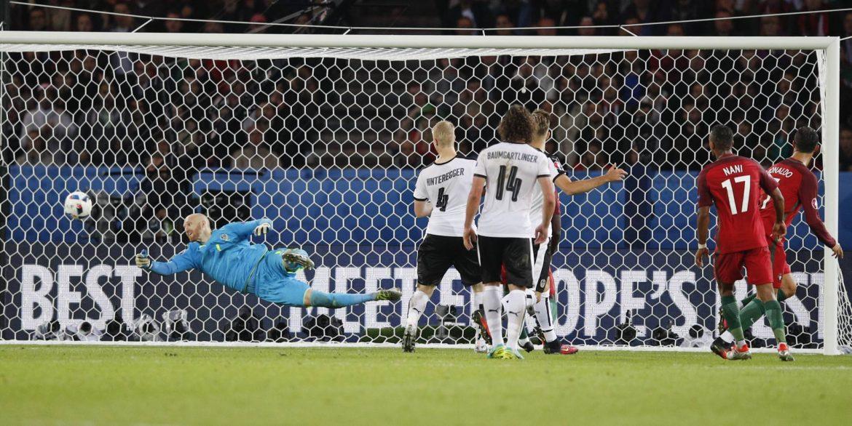 Ronaldo promašio penal