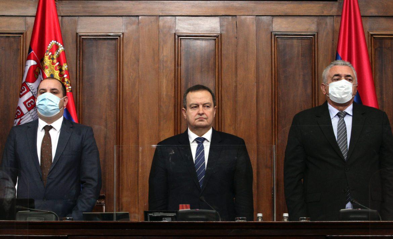 Dačić: Nulta tolerancija institucija Srbije prema korupciji