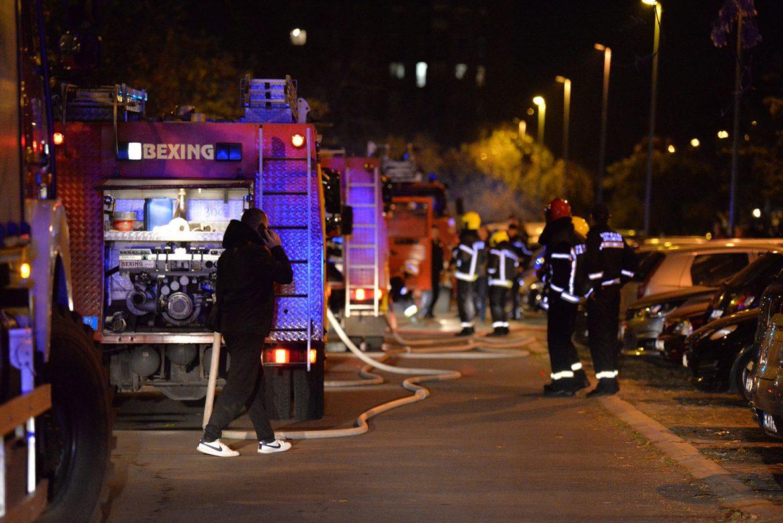 Kragujevac: Požar na novoizgrađenoj Palati pravde