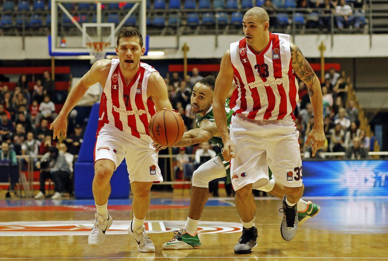 Poraz košarkaša Crvene Zvezde