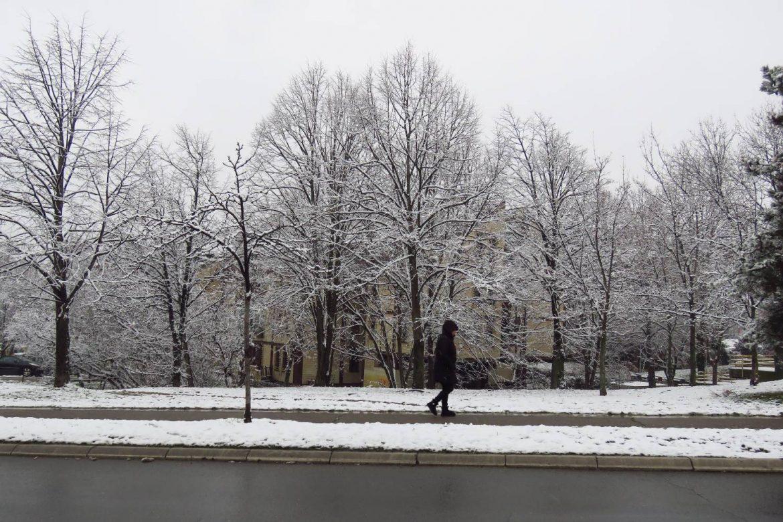 Danas u Srbiji ponegde sneg ili kiša, negde suvo