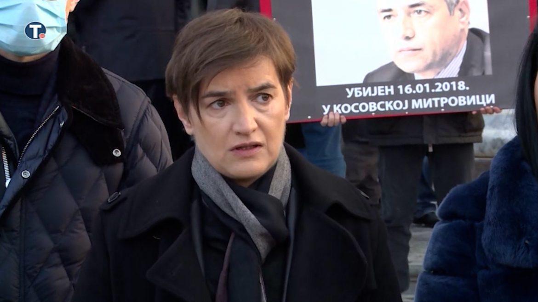Brnabić: Tražićemo i dalje ubice Ivanovića
