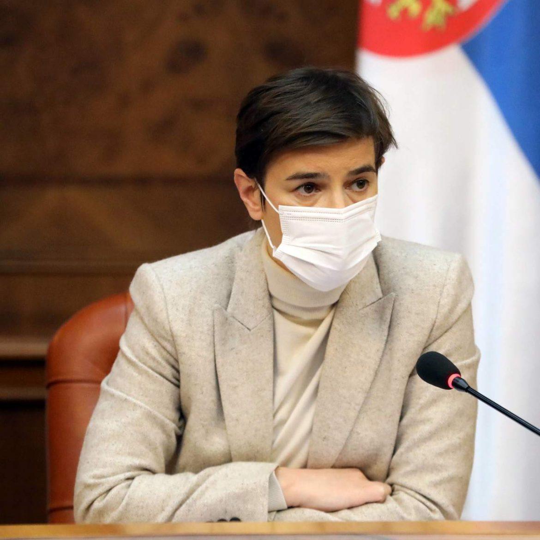 Brnabić: Krizni štab o ukidanju PCR testa za građane Mađarske