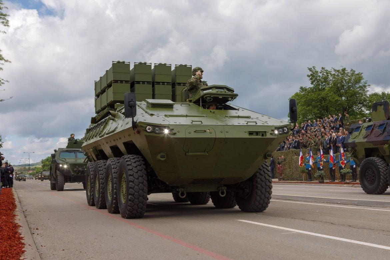 "Oklopna vozila "" Miloš"" za brigadu u Pančevu"